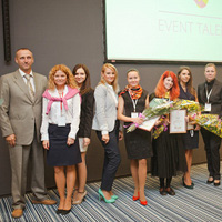 Event TALENTS final competition at the Europe+Asia Event Forum